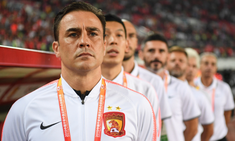 Cannavaro narra como regresa a la normalidad el futbol en China