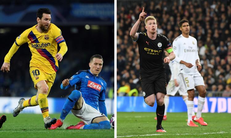 La UEFA multa al Barcelona y al City por indisciplina