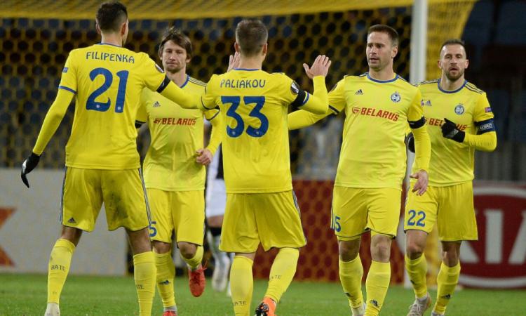 El BATE Borisov consiguió su primera victoria en la liga bielorrusa