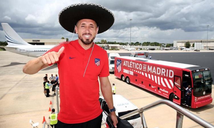 Herrera y el Atleti tienen un GPS para entrenar desde casa