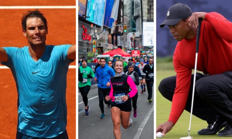 PGA, basquetbol, maratones y el Roland Garros ya tienen fecha de regreso
