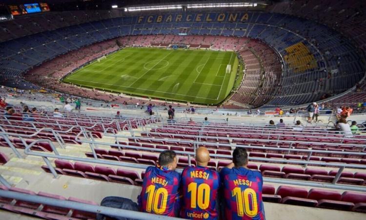 El Barça cambiará el nombre de su estadio para luchar contra el Covid-19