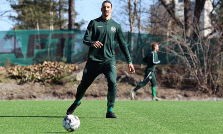 Ibrahimovic jugará un torneo de entrenamiento con el Hammarby de su país