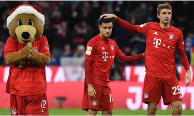 Coutinho es operado del tobillo derecho y es baja del Bayern