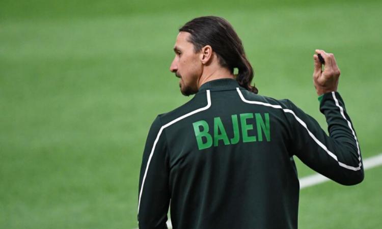 Ibrahimovic jugó y anotó con el Hammarby sueco en torneo amistoso
