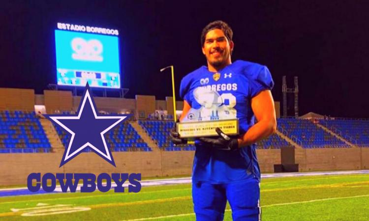 El mexicano Isaac Alarcón es elegido para los entrenamientos de los Cowboys