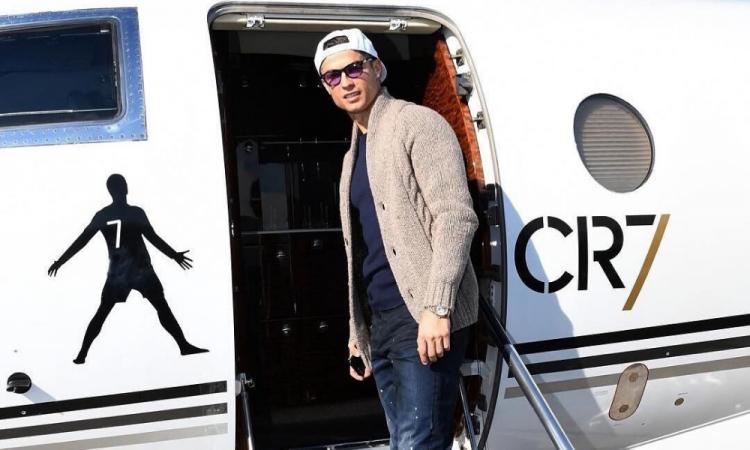 Cristiano Ronaldo regresa a Italia tras casi dos meses en Madeira, Portugal