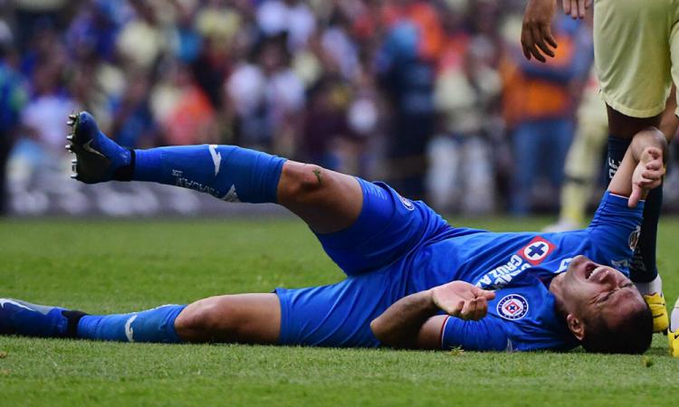 Pablo Aguilar pensó en el retiro luego de su lesión con Cruz Azul