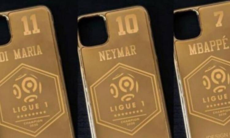 El PSG desmiente: no regalará a sus jugadores una funda de teléfono de oro