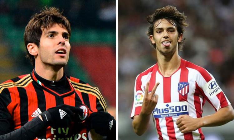 En mi cuarto tenía un póster tuyo: Joao Félix a Kaká