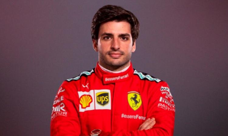 El español Carlos Sainz es nuevo piloto de Ferrari