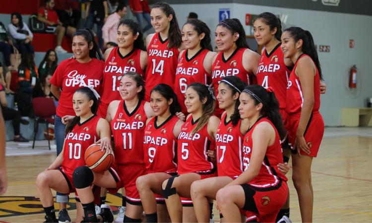 La UPAEP reconoce a su equipo femenil de basquetbol