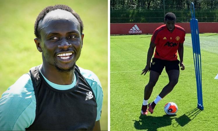 Liverpool y Manchester United regresan a los entrenamientos