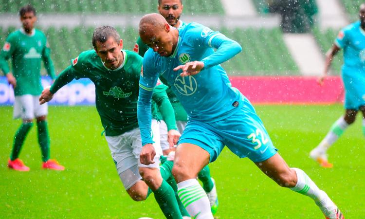 El Wolfsburgo vence al Bremen y entra a puestos europeos