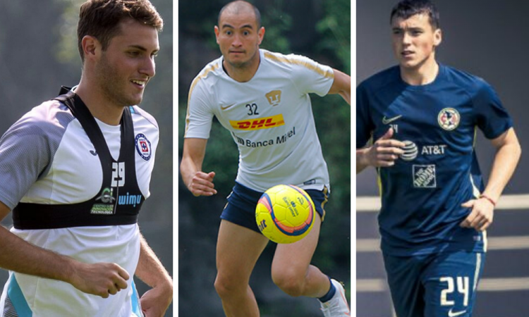 Pumas, América y Cruz Azul regresan a los entrenamientos en campo