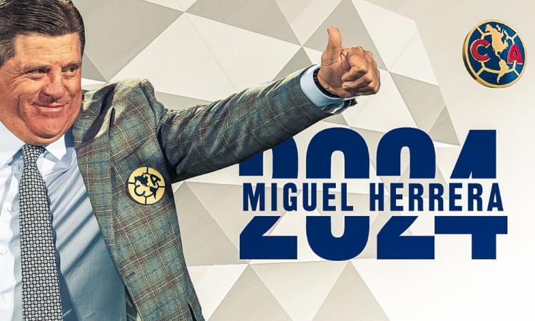 Miguel Herrera renueva con el América hasta el 2024