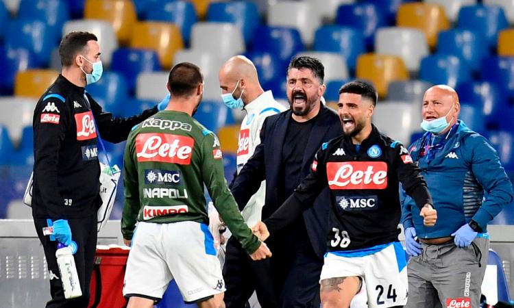 No permito a nadie arruinar un entrenamiento: Gattuso al Chucky Lozano