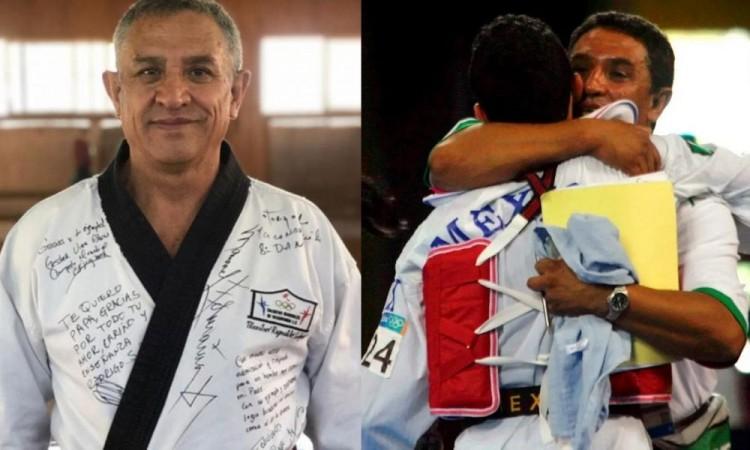 Por Covid, muere Reinaldo Salazar, doble medallista mundial de taekwondo