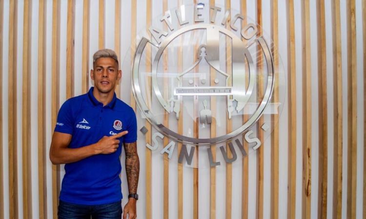 Mauro Quiroga es nuevo jugador del San Luis
