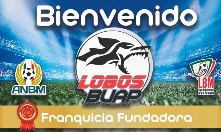 Oficializa Lobos BUAP ingreso a Liga Balompié Mexicano