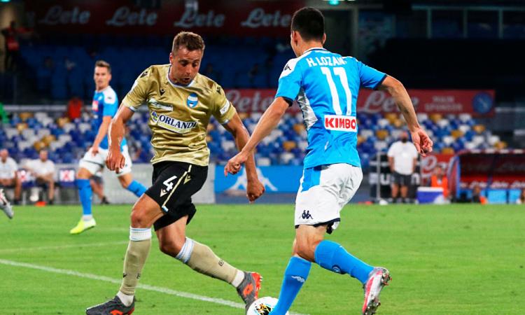Chucky jugó 30 minutos en la victoria del Napoli; Atalanta, intratable