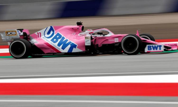Checo es tercero en los libres previo al regreso de la Fórmula Uno