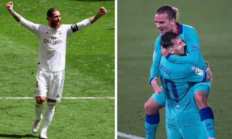 El Madrid mantiene el liderato con polémica; el Barça, goleó al Villareal
