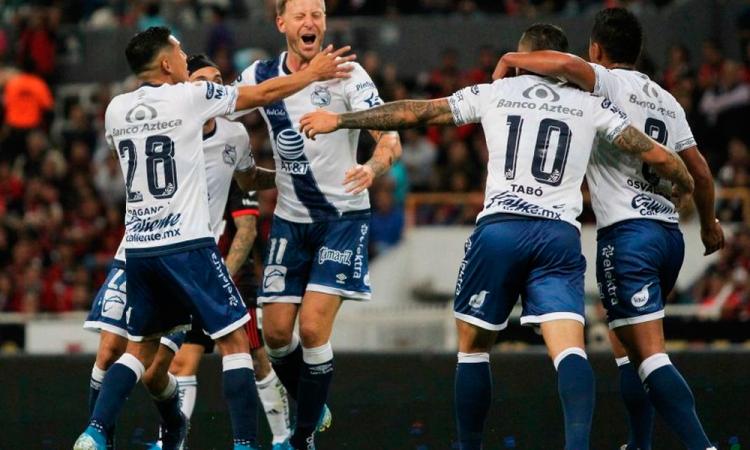 El Puebla a la cabeza de la Liga MX, por ahora