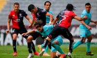 1-1. Renato Ibarra rescata empate del Atlas ante el Mazatlán FC