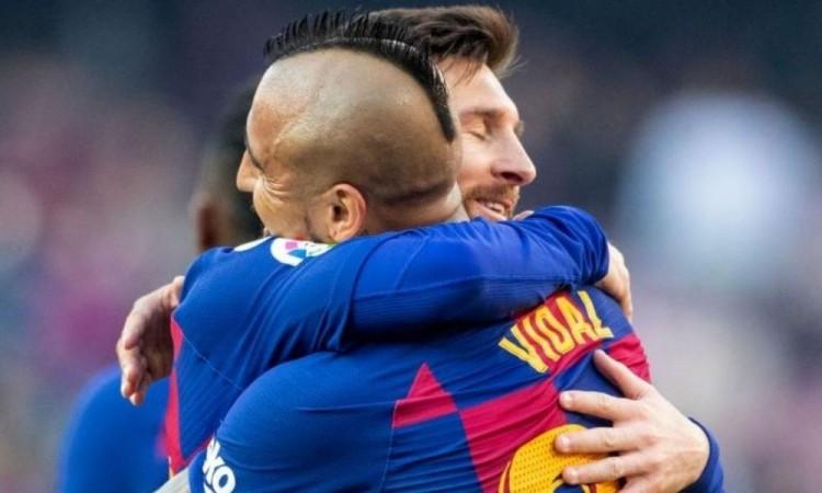 Vidal jugaba en el Barcelona desde 2018.
