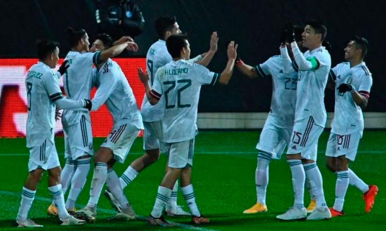 3-2. México vence a Corea del Sur en amistoso