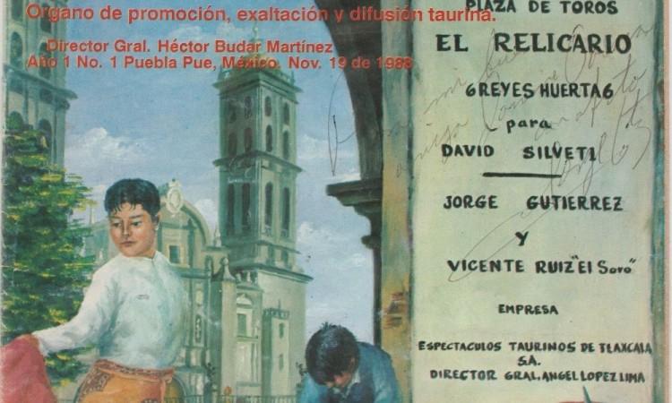 José Ángel Llega a Puebla en mayo del 88 (segunda entrega)