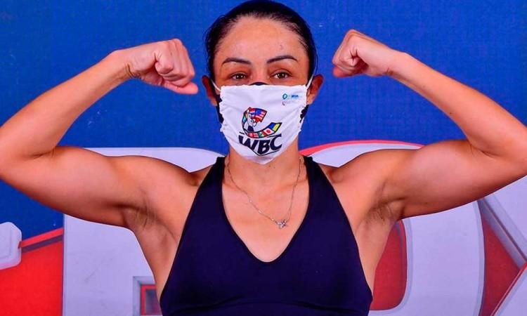 La boxeadora Jackie Nava revela que su retirada está cerca