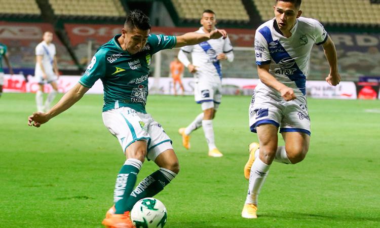 León derrota al Puebla y accede a semifinales del Apertura
