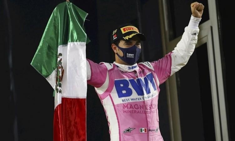 Lo de Checo Pérez en Baréin, es el acontecimiento deportivo de México en 2020
