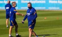 Barcelona anuncia dos positivos de Covid en su cuerpo técnico