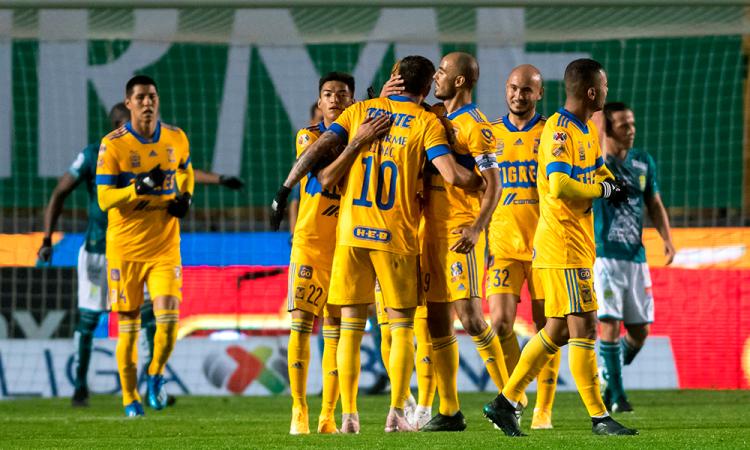 Tigres vence al campeón León 2 – 0