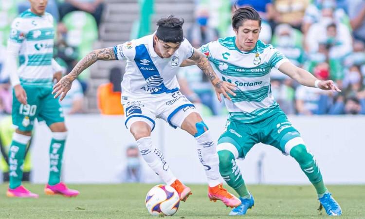 El Puebla empata al Santos y avanza a cuartos de final