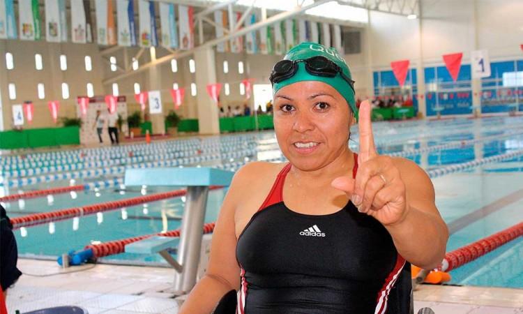 La mexicana Paty Valle buscará medalla en los paralímpicos, a sus 52 años