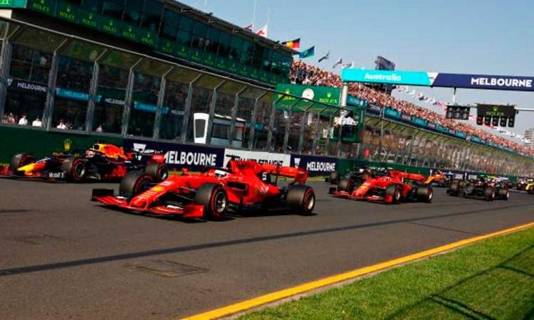 Cancelan el Gran Premio de Australia por las restricciones del COVID-19