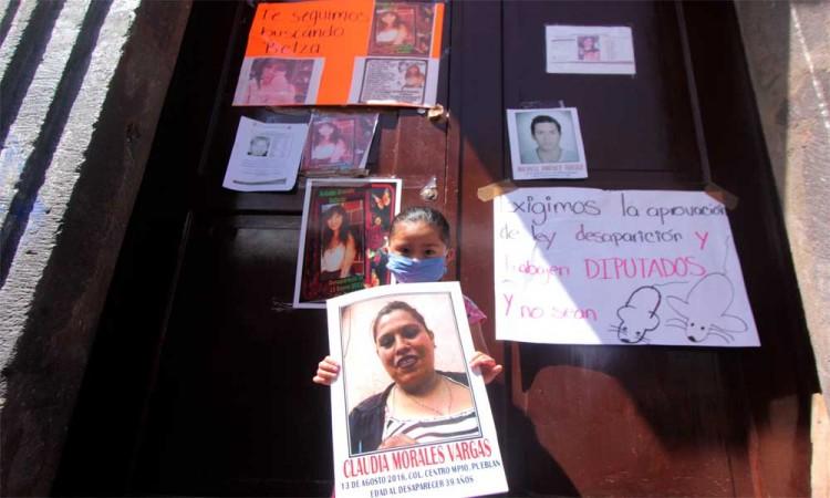 Sufrimos intimidación por parte del gobierno estatal, acusa Voz de los Desaparecidos