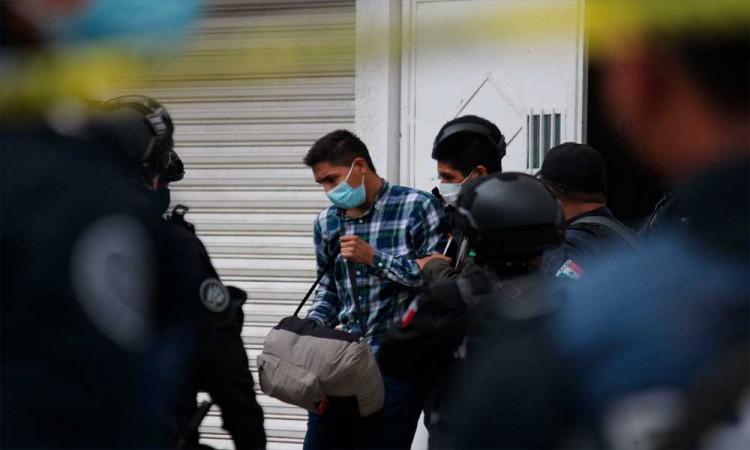 Rescate de 208 migrantes de origen centroamericano en inmediaciones de la colonia México 83