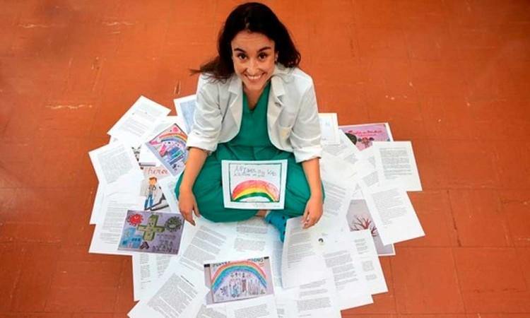 Cristina Marín, la médica impulsora de las cartas de ánimo para pacientes covid ganó el Premio Dresde de La Paz