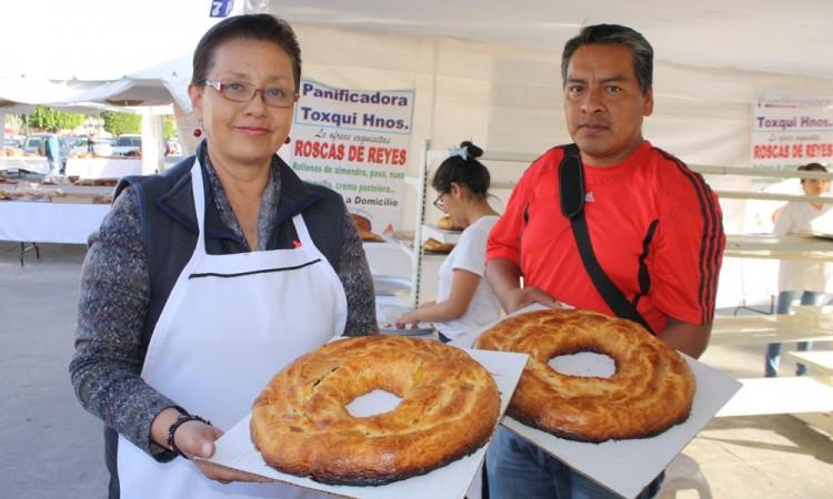 Goza San Pedro Cholula de gran rosca de temporada
