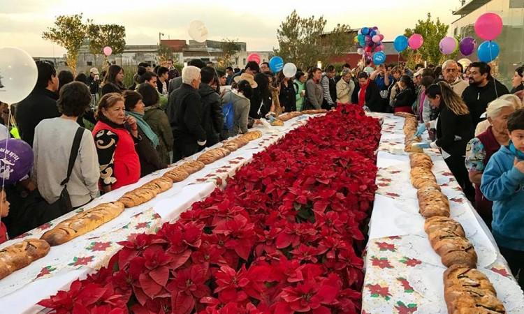 Celebra Museo Amparo su tradicional partida de rosca