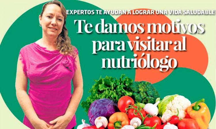 Te damos motivos para visitar al nutriólogo