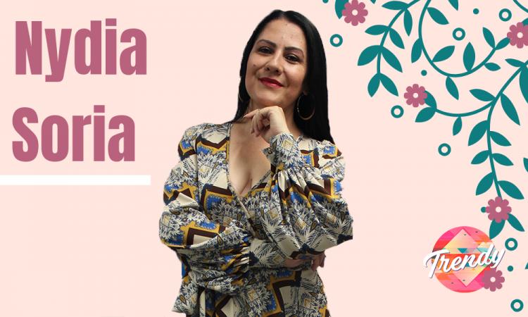 Nydia, destacada poblana formando bellezas