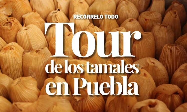 Tour de los tamales en Puebla