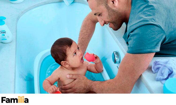 Consejos para los primeros baños de tu bebé
