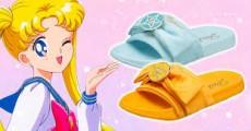 Crean sandalias de Sailor Moon